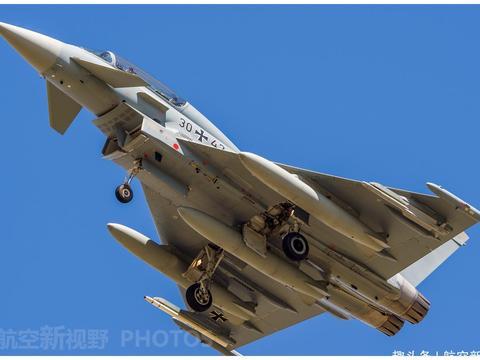 德国空军台风战机高清图集 性能合适够用 不买F-35战机的原因