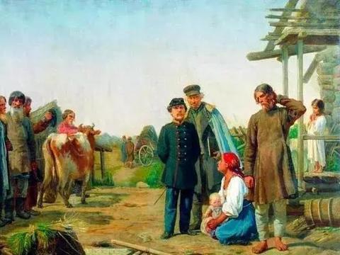 一百多年前的俄国农奴:生活很悲惨吗?一周只工作3天