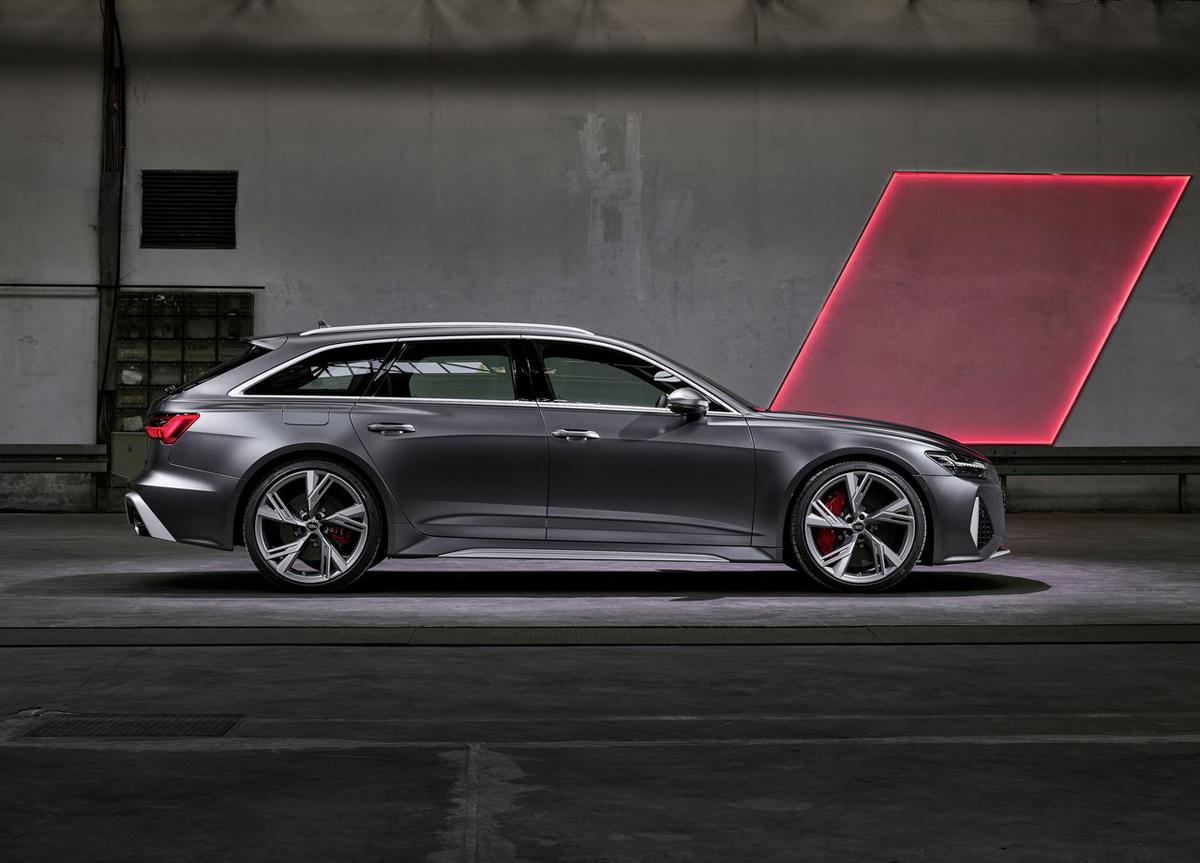 新一代奥迪RS6 Avant官图曝光