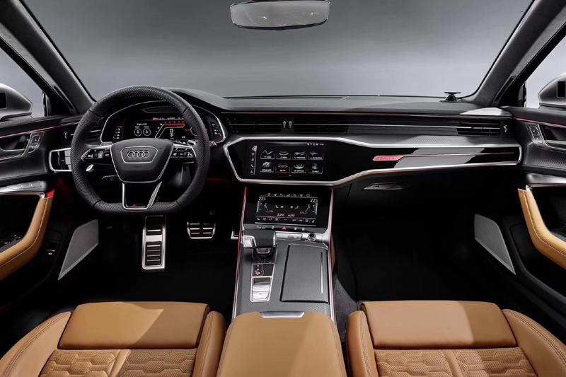 9月10日亮相/配48V电动机 全新一代奥迪RS 6 Avant官图发布