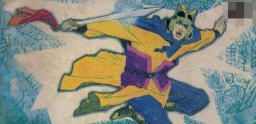 王不过项,力不过霸,将不过李,拳不过金 他被传是岳飞的师爷