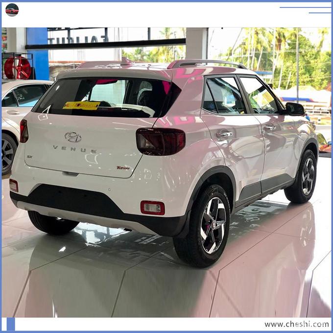 现代全新SUV到店实拍 搭1.6L引擎/竞争本田XR-V