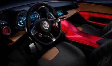 阿尔法·罗密欧首款混动车型渲染图曝光,车型为Tonale