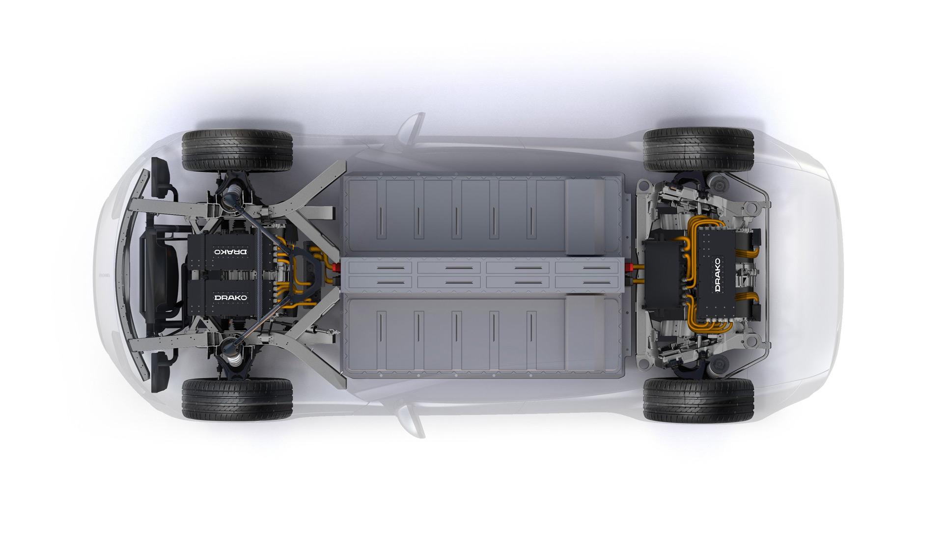 硅谷电动极跑Drako GTE终露真容,性能疯狂,售价更疯狂