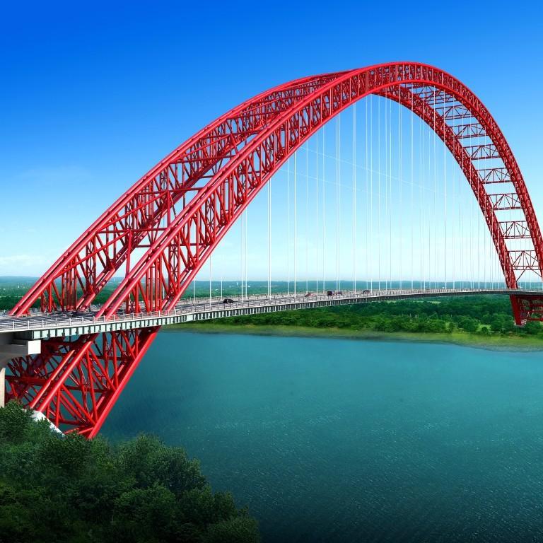 广西将添一座世界第一跨度钢管拱桥 预计2020年合龙