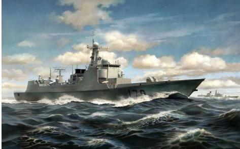 现在驱逐舰的甲板有多厚?比你想象的薄的多