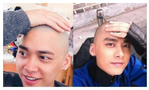 当男明星剃光头,李易峰可爱,吴亦凡霸气,看到他粉丝都沸腾