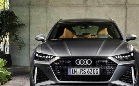 奥迪全新一代RS6 Avant法兰克福发布 所有信息点都在这里了