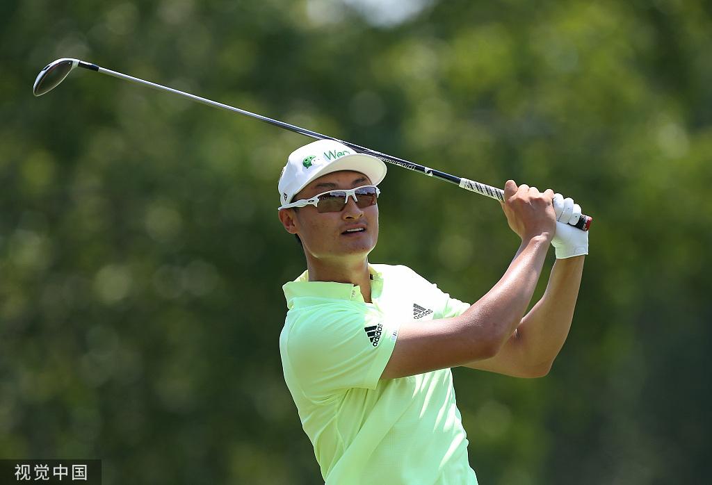入选总统杯创中国高尔夫新历史,李昊桐期待挑战伍兹