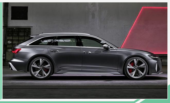 """""""西装暴徒""""现身 奥迪RS6 Avant将明年一季度上市"""