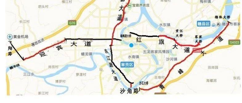别走错!赣州城区5条道路命名更名