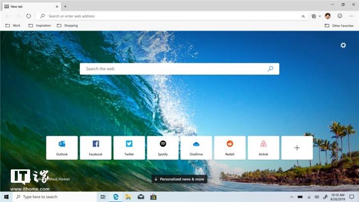 微软Chromium版Edge浏览器Beta Windows 10/macOS版正式下载