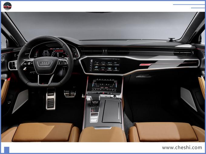 奥迪新A6性能版官图!年内开售,与奔驰GLE同价位您选谁?
