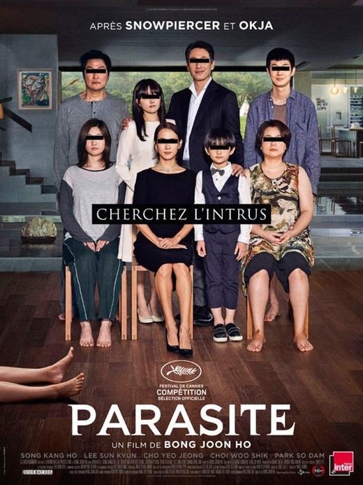 《寄生虫》10月11日在北美上映 将角逐奥斯卡最佳外语片(图)