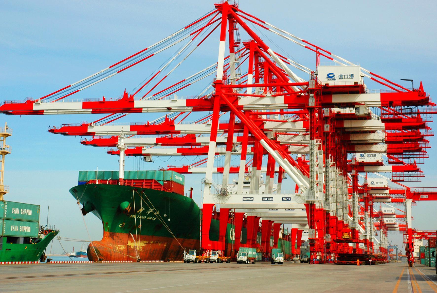 中国北方崛起新的港口航母