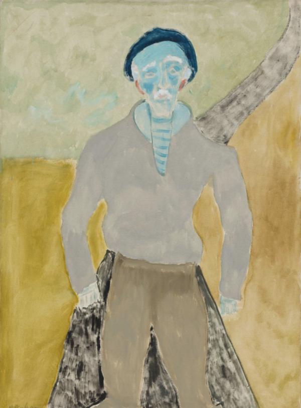 深受马蒂斯影响的画家艾弗里,水彩般的质感,如记忆的碎片