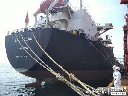 越南籍外轮存重大缺陷被滞留龙口,整改完毕驶往青岛港