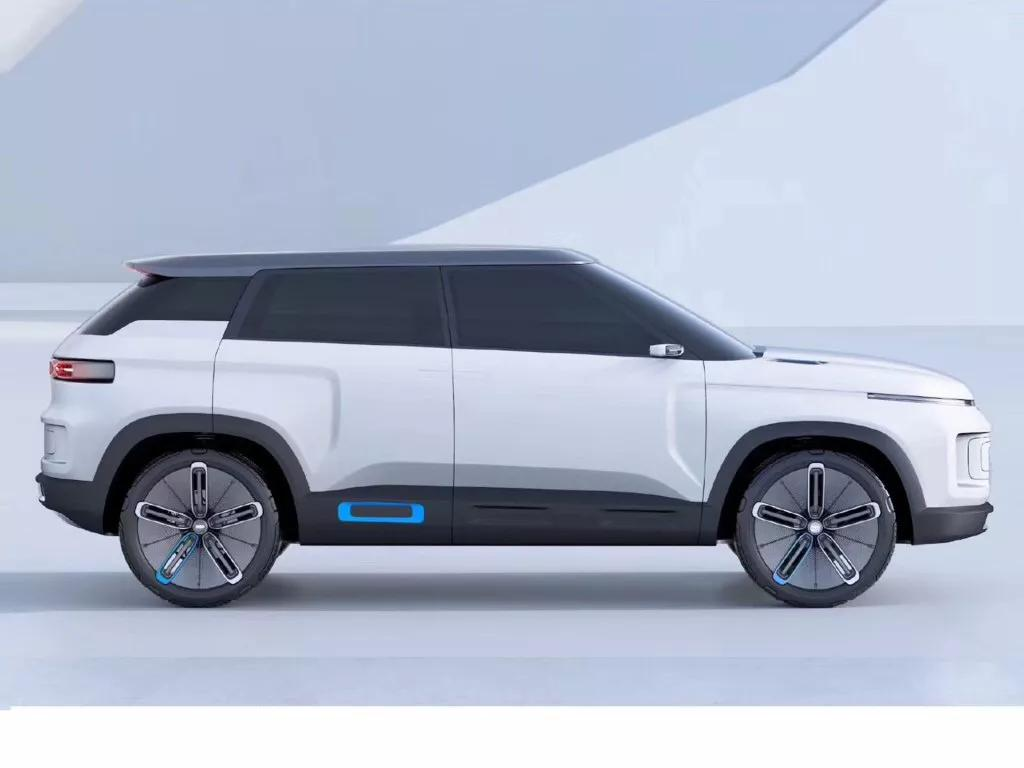 全新SUV改走造型前卫风格 吉利SX12或定名ICON