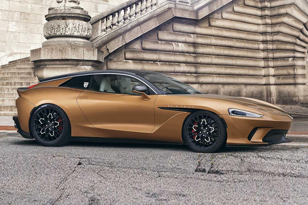 前置引擎布局/外观极具科技感 迈凯伦GT车型渲染图曝光