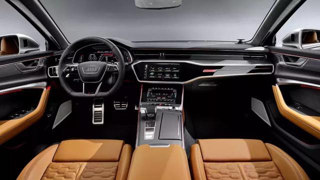 全新一代奥迪RS6 Avant官图公布,搭载V8发动机