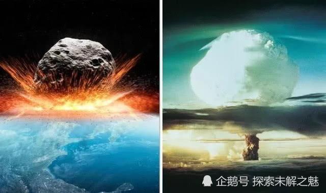"""相形见绌!假如撞击地球,NASA公布""""混沌之神""""将造成的破坏"""