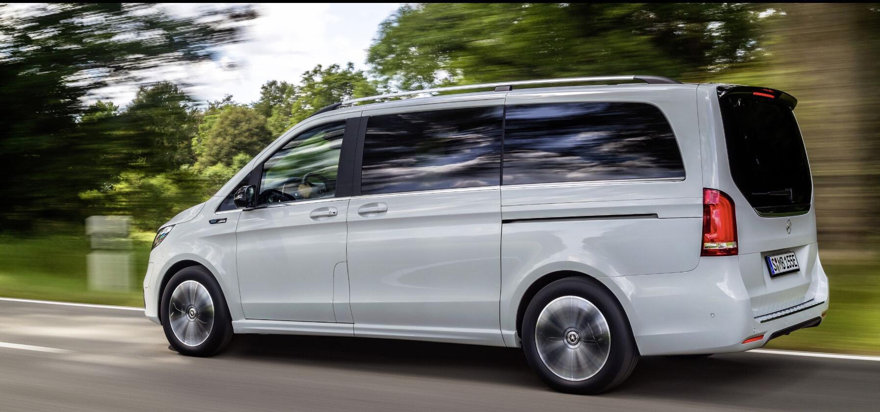 奔驰发布纯电动MPV 或将成为全球首款纯电豪华MPV