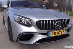 视频:实拍:奔驰AMG S63,踩下油门瞬间才明白弹射起步有多厉害