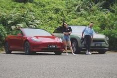 视频:中美电动车大对决!蔚来ES6对比特斯拉Model 3
