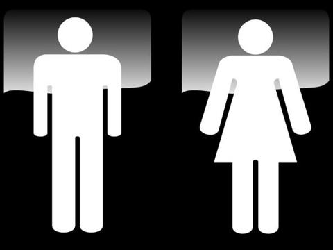 看到大象和长颈鹿标记的厕所,怎么分辨男女呢?不懂只能憋着了