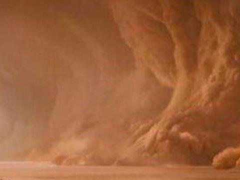 考古队途中遇到沙尘暴,风暴过后睁眼一看,一座神秘古城突然出现