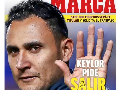马卡报封面:主力没保证,纳瓦斯再次要求前往巴黎
