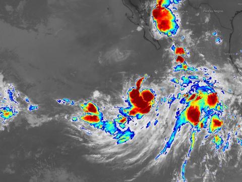 """东北太平洋第9个风暴诞生!11号台风白鹿或""""跨越式""""两次登陆"""