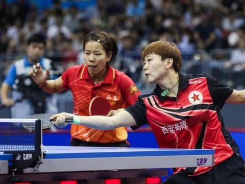 末局连下4分逆转!国乒女双冠军组合胜日本进8强 决赛或再遇平野