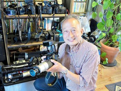 换个波段看世界 日本退休教师利用紫外线相机展现别样的大自然