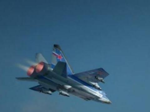 米格31顺利执行任务,速度实现3马赫,继续承载着不锈钢传奇