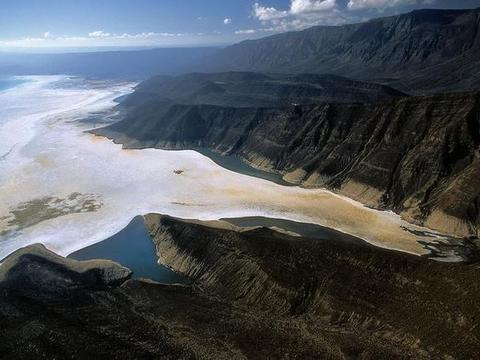 世界上一个没有出水口和入水口的湖泊,位于沙漠之中