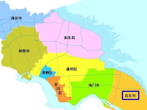 江苏省南通市启东市名列全国百强县第27位:长三角地形很特殊的
