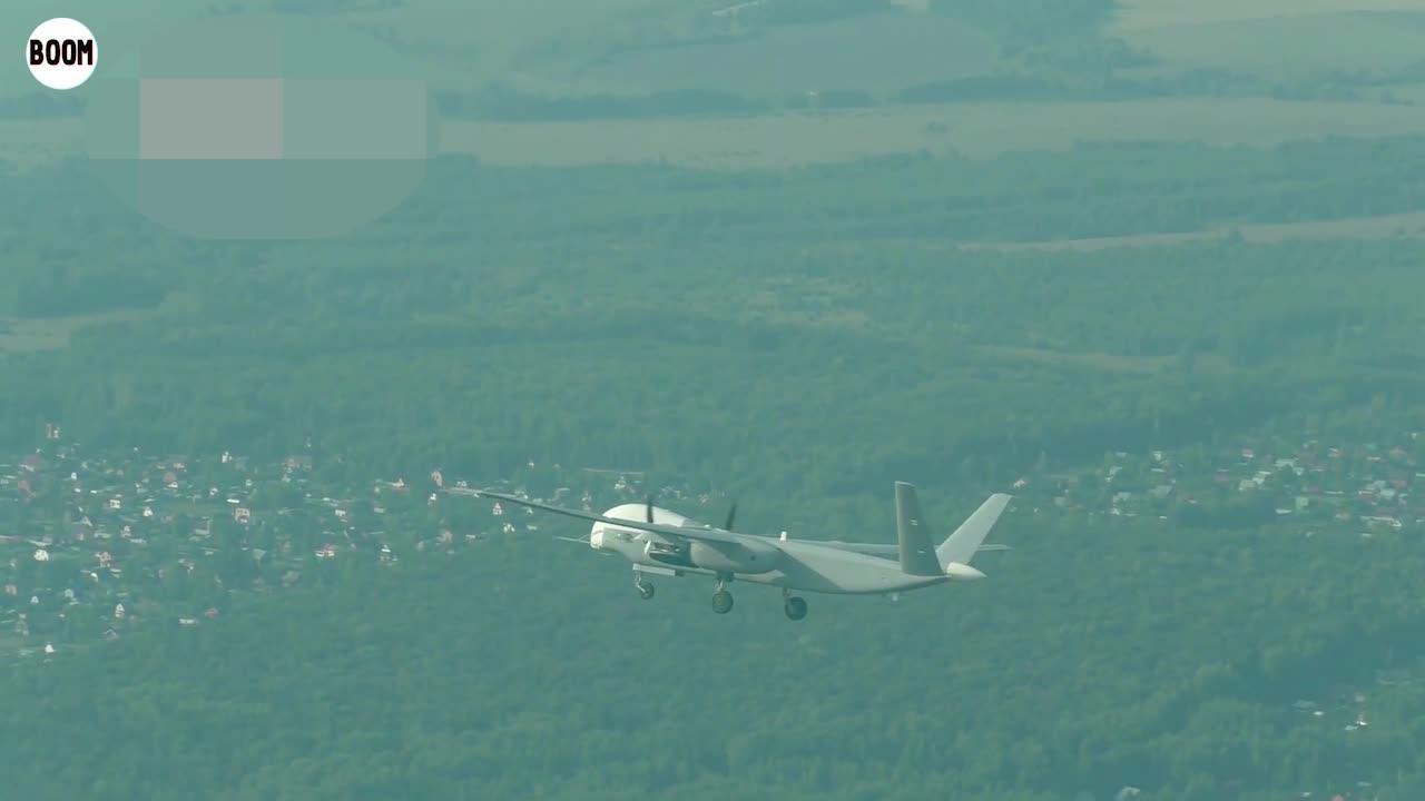 俄国防部公布Alitus无人机首飞画面