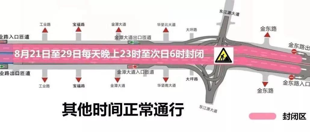 赣州迎宾高架路全线通行 请注意两个重要时间节点