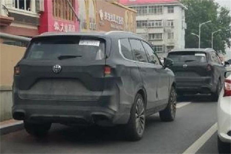 """华晨中华V9预计年内发布,欲对标汉兰达,搭""""宝马""""发动机"""