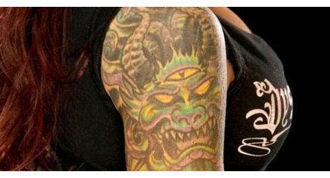 WWE史上那些看后必犯尴尬症的明星纹身,男神巴蒂都未能幸免