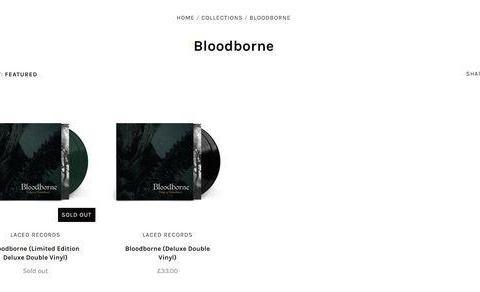《血源诅咒》原声黑胶唱片今年9月上市