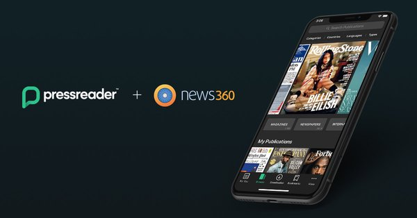 加拿大PressReader收购新闻聚合应用News360   美通社