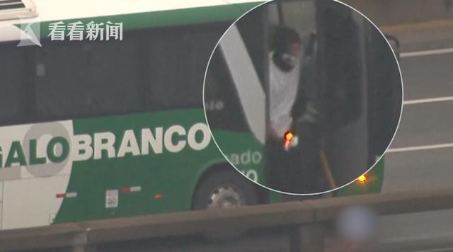 视频 巴西男子劫持公交车被击毙 女乘客获救当场晕倒