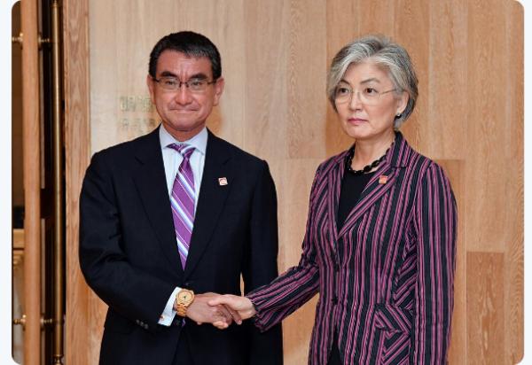 日韩外长会未解决分歧 同意外交部门继续对话