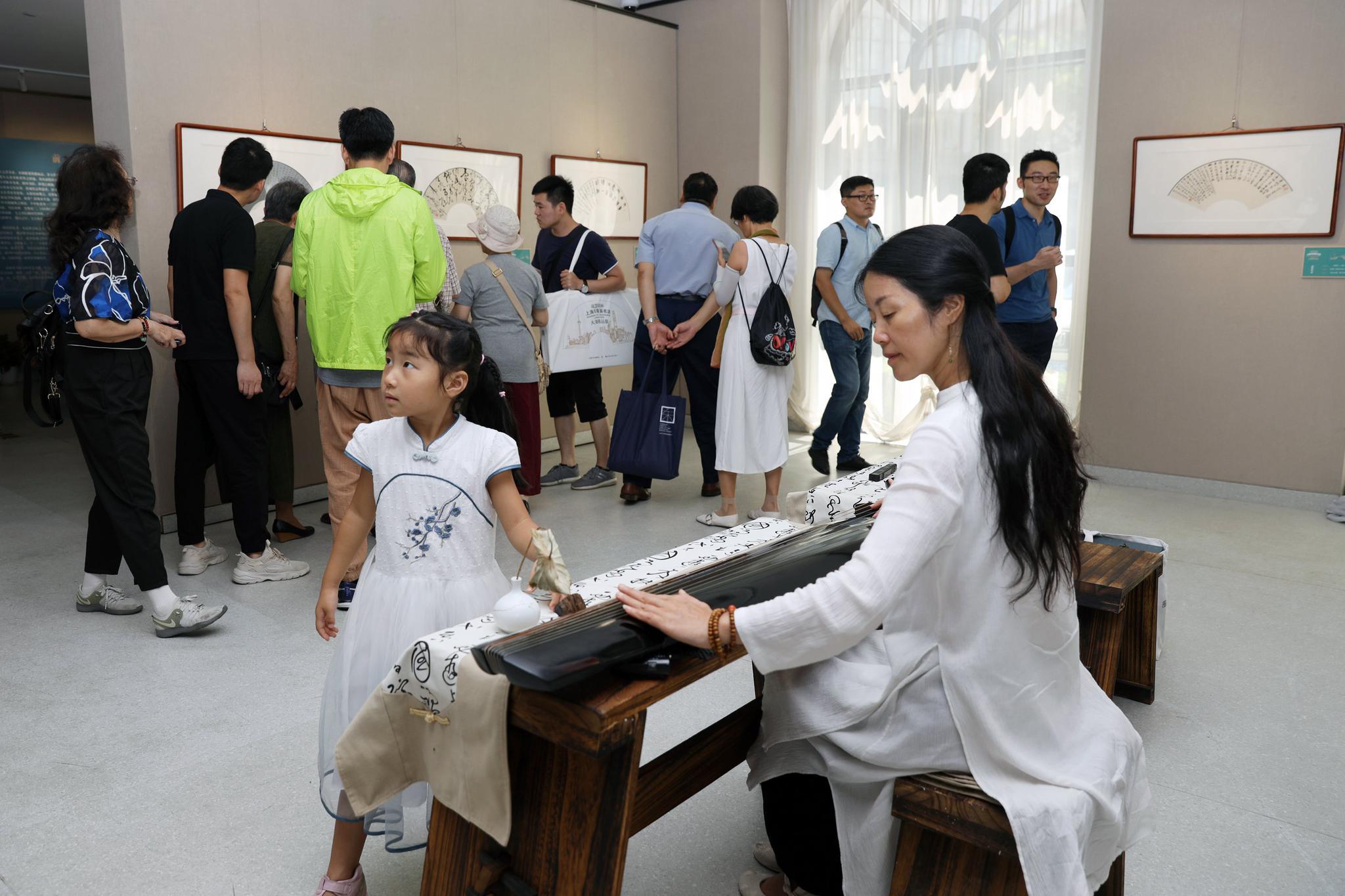 上海首次举办以扇面为形制的书法大赛