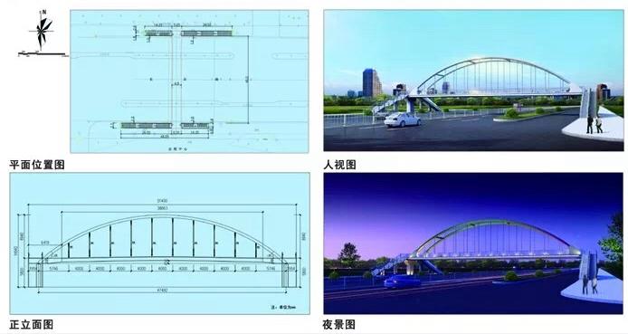 聊城东昌路会展中心人行天桥即将开建,附近路段临时封路