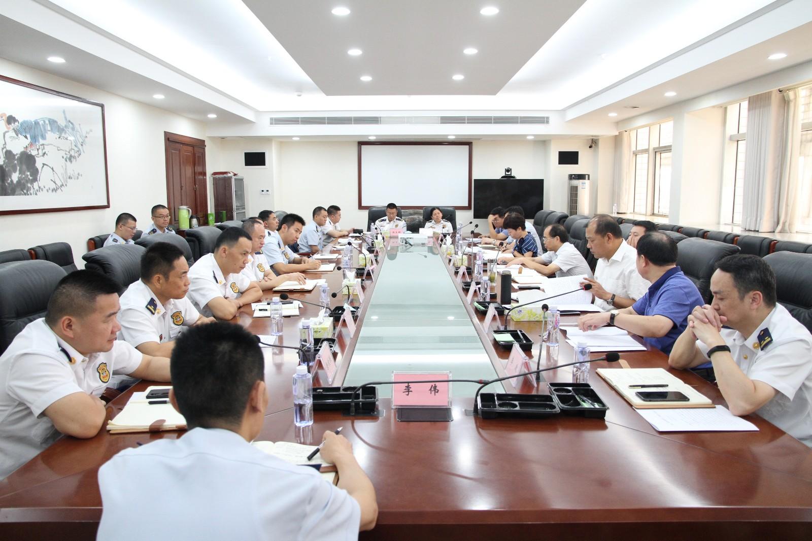 长沙市消防系统优化营商环境工作座谈会召开 谭小平出席