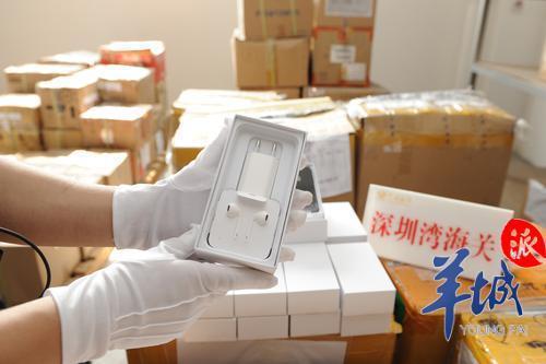 IPHONE、NIKE、LV……深圳连续查获电商出口侵权商品