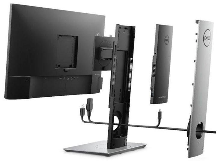 戴尔发布新款一体机:主板置于显示器支架内